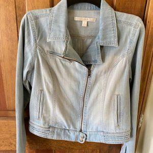 Demin Demin Moto Jean Jacket